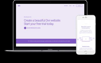 Secciones de biblioteca de DIVI para WordPress
