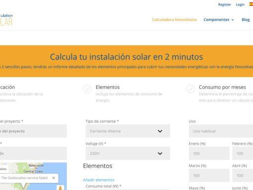 Calculation Solar